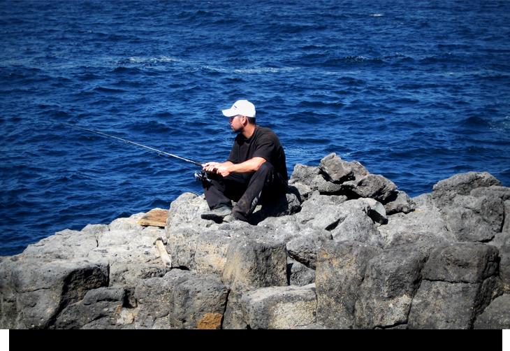 Fakta och info om djuphavsfiske och fiske från land Kap Verde öarna norra Sal
