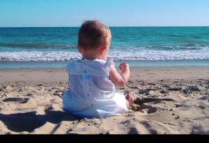 Resa till Kap Verde med små barn / baby. Ta med välling och blöjor!