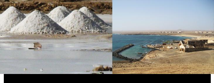 Info & fakta om Pedra Lume. Bada i saltsjö, salt gruvor på Kap Verde öarna Sal. Strand, restaurang & hajar.
