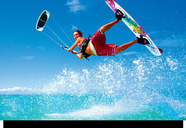 Info om kitesurfing på Costa de Fragata, Kap Verde de öarna & Sal. Kite surfing stranden med bra vind och vågor för vattensport.