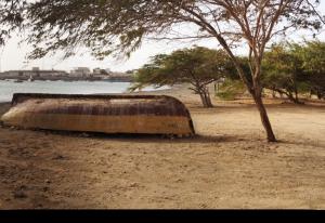 Palmeira, en fiskeby på västra Sal, Kap Verde öarna. Bra fiske ställe!