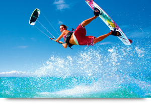 Watersports & Kite surfing at Costa de Fragata, Cape Verde Sal