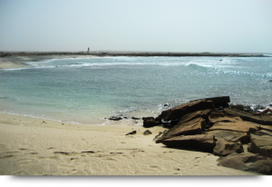 Murdeira empty beach & real estate speculation Cape Verde islands Sal
